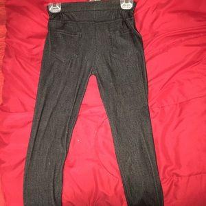 Pants - Black jeggings